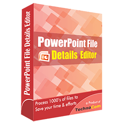 PowerPoint File Details Editor
