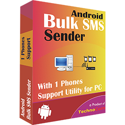 Bulk SMS Sender (Single Phone Support)