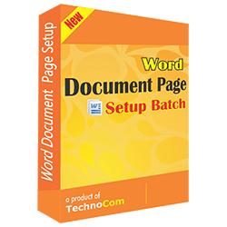 Word Document Page Setup