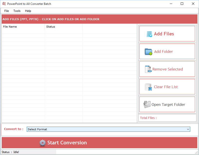 Windows 7 PowerPoint to All Converter 3.1.2.6 full